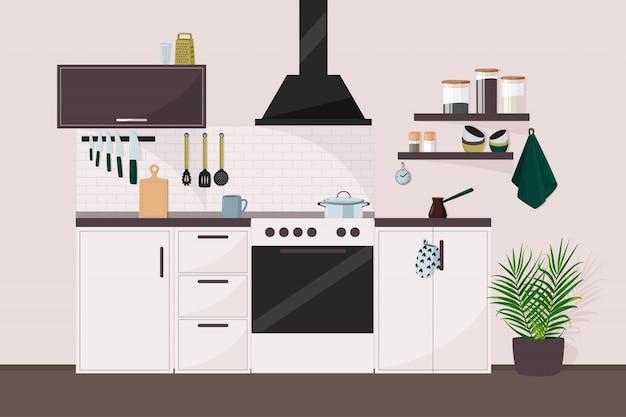 キッチンの図。