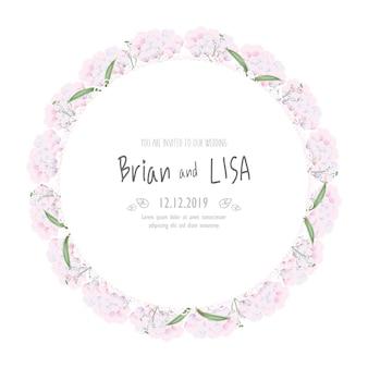 Старинные цветочные свадебные карточки в стиле акварели.