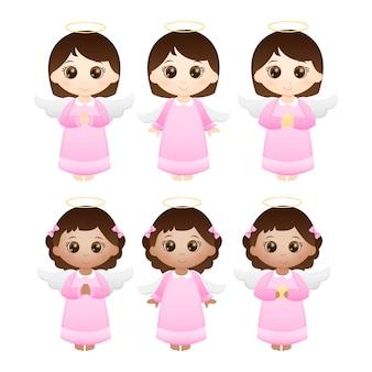 かわいい天使たち