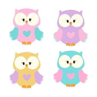 Красочные совы