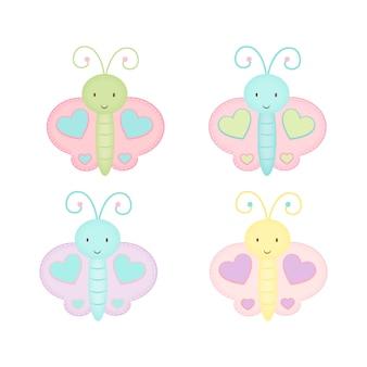 かわいい蝶