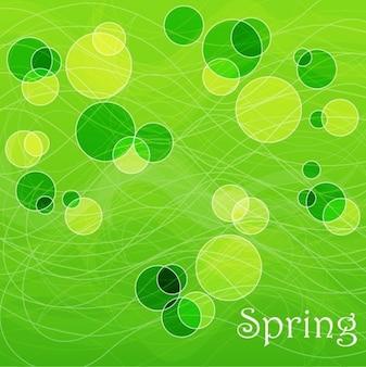 無料の抽象的な春の背景