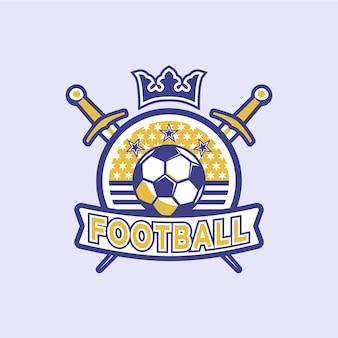 サッカーサッカーバッジ