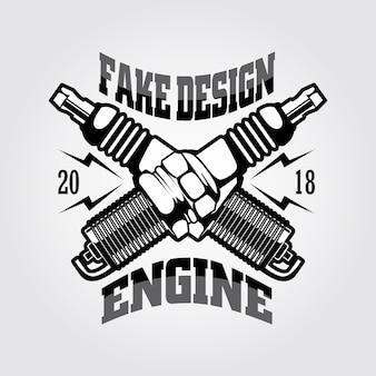 Логотип двигателя зажигания