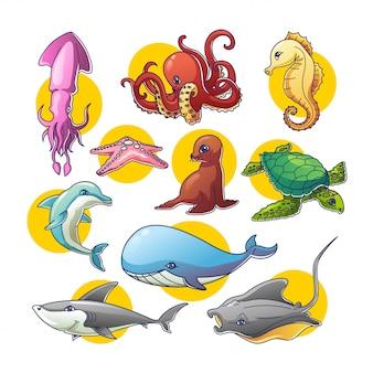 海洋性動物
