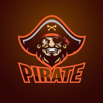 Пиратский логотип