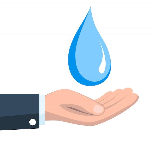 Сохранить концепцию воды