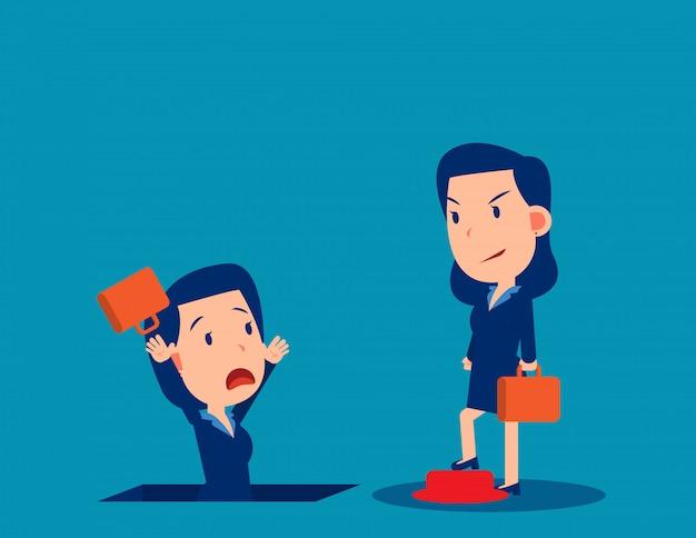 Люди и неуверенность в работе. бизнес безработных и уволен концепции