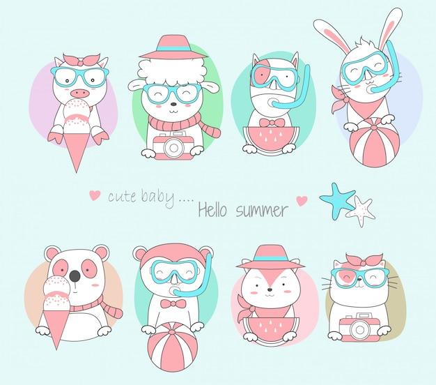 かわいい赤ちゃん動物