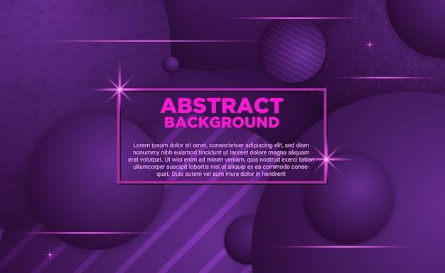 抽象的な紫色のボールの背景
