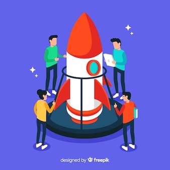 フラットエンジニアがロケットを造る