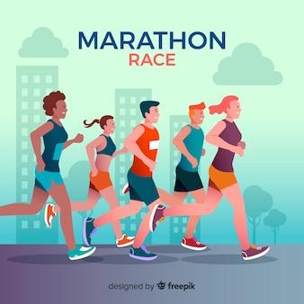 マラソンレース