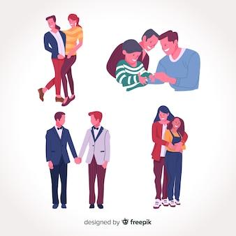 Семейные пары и день гордости