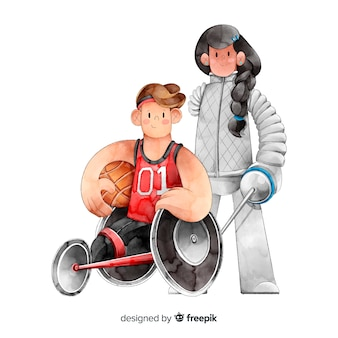 障害のある選手