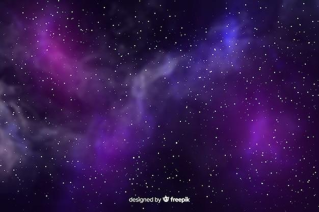 Фон реалистичной галактики