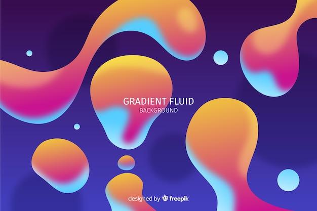 抽象的な流体図形の背景