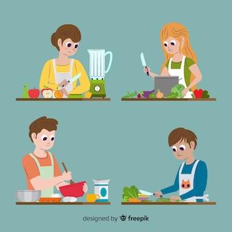キッチンコレクションの人々