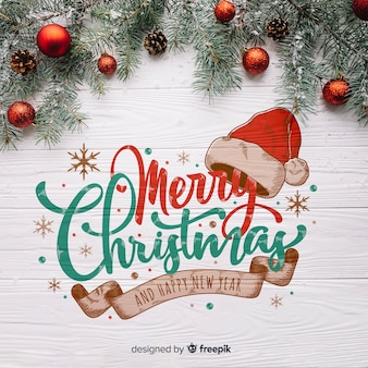 Деревянная рождественская открытка