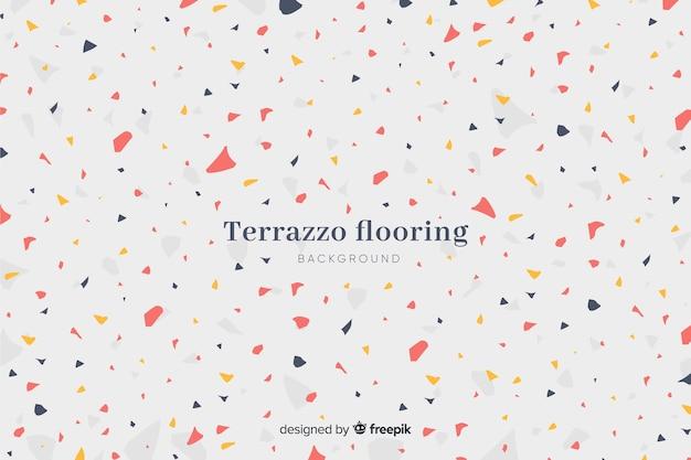 抽象的なテラゾの質感のフロアーリングの背景