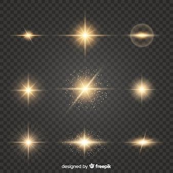 集光のリアルなバースト