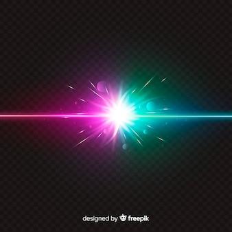 現実的な力が光の効果をクラッシュさせる