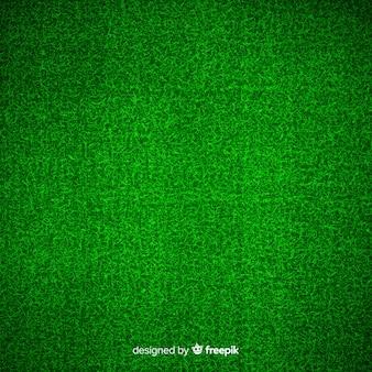 緑の芝生の背景現実的なデザイン