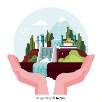 エコロジーの概念と現代の自然の背景