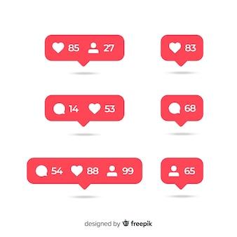 Элементы социальных сетей