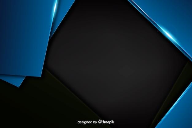 Темно-синий фон с эффектом металлик