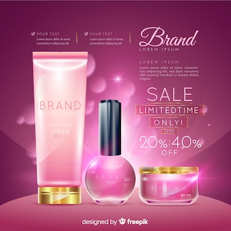 ランドリー化粧品販売リアル広告