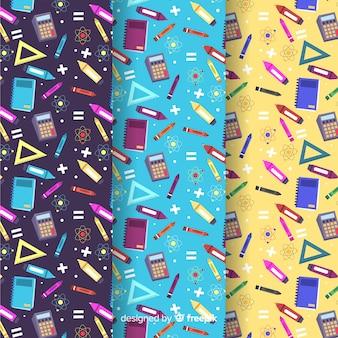 フラットバックスクールパターンコレクション