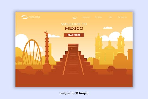 メキシコのランディングページへようこそ