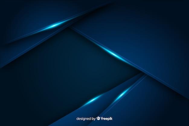 Абстрактный металлический синий декоративный фон