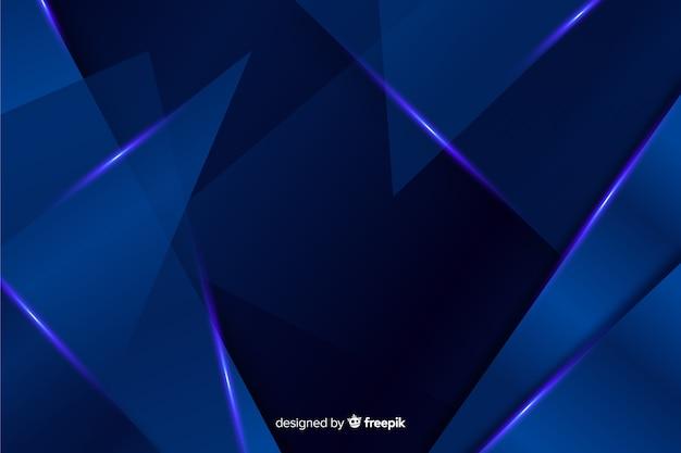 抽象的なメタリックブルーの装飾的な背景