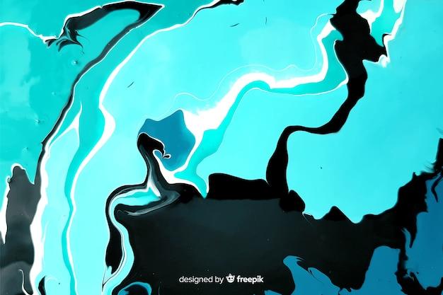 Синяя краска мраморная текстура фон