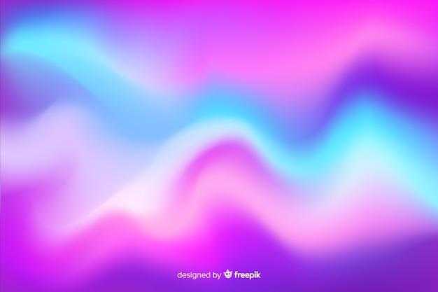 カラフルなオーロラの抽象的な背景