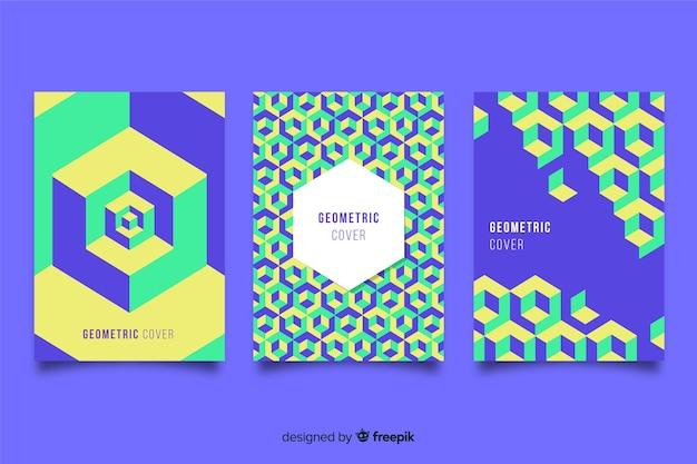 幾何学的なデザインのカバー