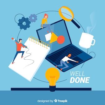 Концепция целевой страницы процесса проектирования