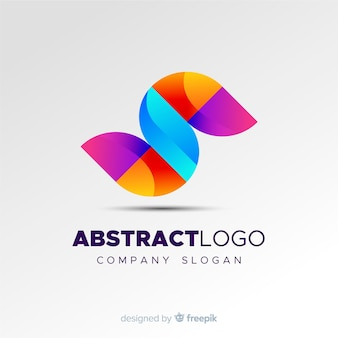 Красочный абстрактный логотип шаблон