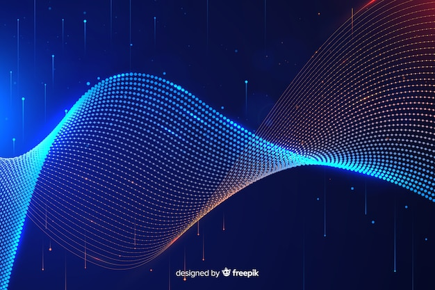 Абстрактный большой фон концепции данных