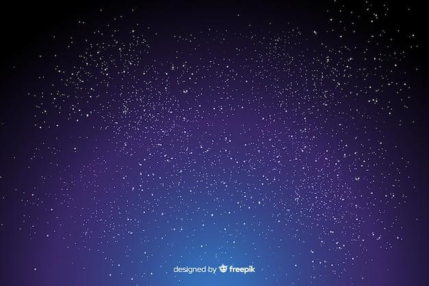 Градиентный фон звездной ночи