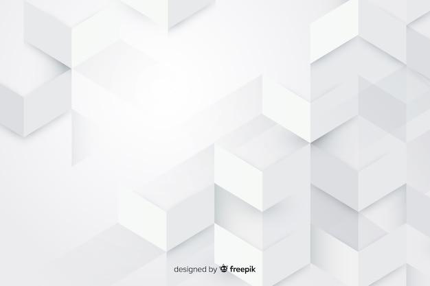 紙のスタイルの幾何学的モデルの背景