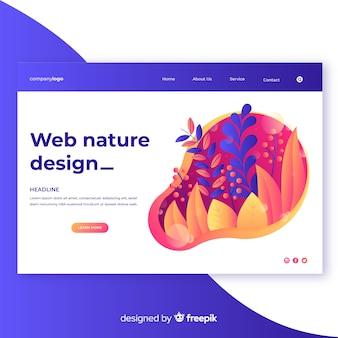 Градиентная природа веб дизайн