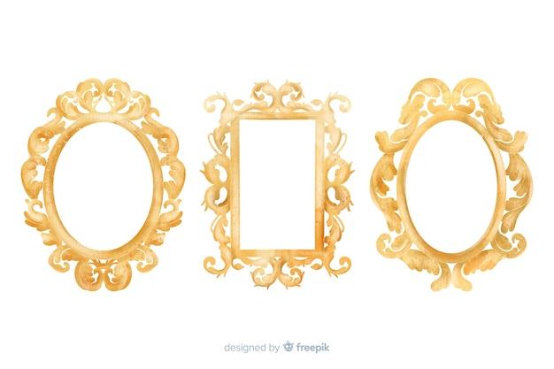 ビンテージ装飾ロゴコレクション