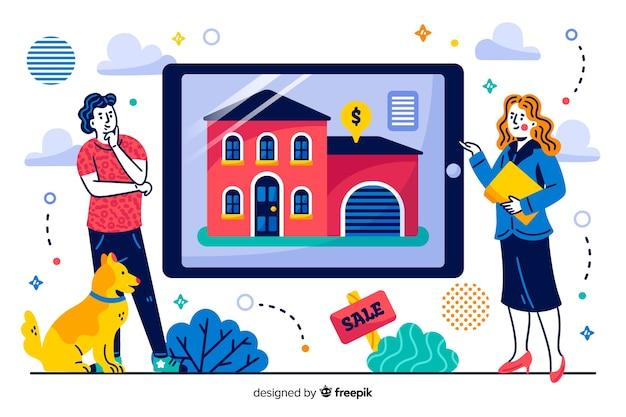 家探しのランディングページの概念