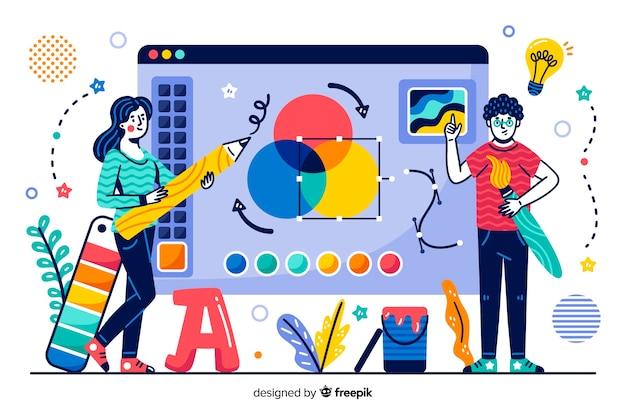 コンセプトランディングページのデザインプロセス