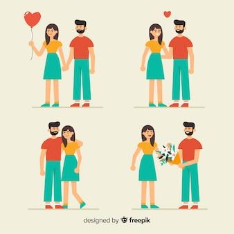 Коллекция влюбленной пары