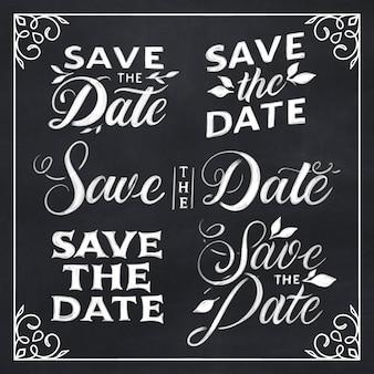 Сохраните дату надписи