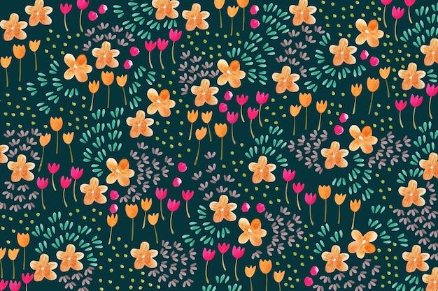 花の頭が変な背景