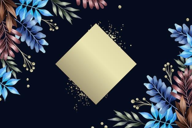空の空中ブランコの形の壁紙